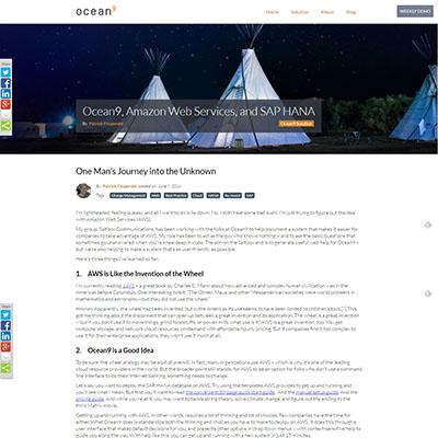 Ocean9 - Blog Post