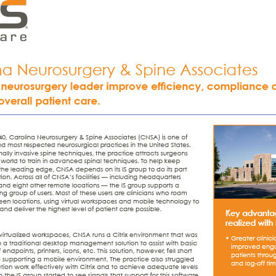 RES Case Study CNSA Non-Partner