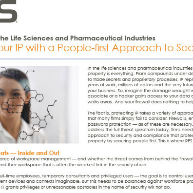 RES Data Sheet Pharmaceuticals