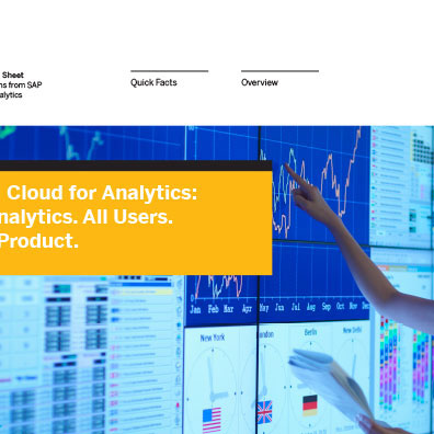 SAP Info Sheet