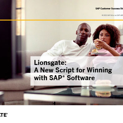 SAP Success Story Lionsgate